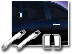 Хромированные дверные ручки на Jeep Compas