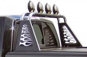 Дуги в кузов на Toyota Tundra