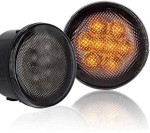 wrangler JK передние диодные габаритные огни и поворотники—85$