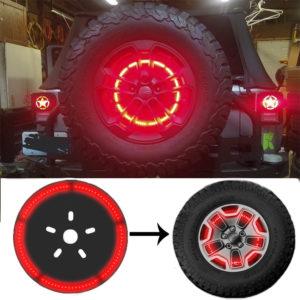 Задний LED стоп сигнал в запасное колесо