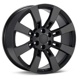 Диски черные вороненые матовые Sport Muscle V73 Black Painted — 485$ шт.