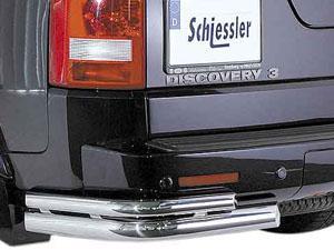 Защита заднего бампера на Land Rover