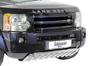 Защита двигателя на Land Rover