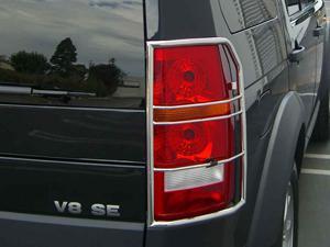 Металлическая защита задних фар на Land Rover
