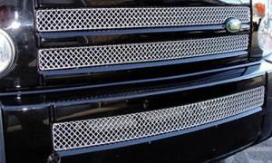 Комплект из 3-х решеток радиатора на Range Rover