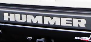 Логотип хром на Hummer H2