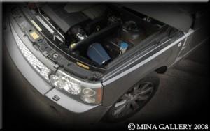 Увеличение мощности на Range Rover Sport